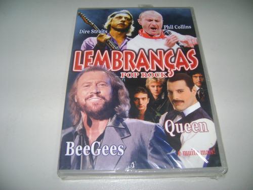 dvd musical lembranças pop rock ! original !
