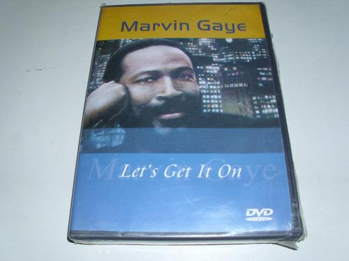dvd musical marvin gaye lets get it  on ! original !