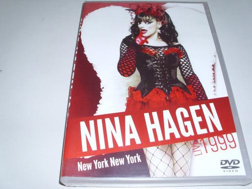 dvd musical nina hagen new york new york live 1999