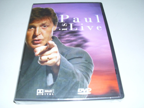 dvd musical paul is live