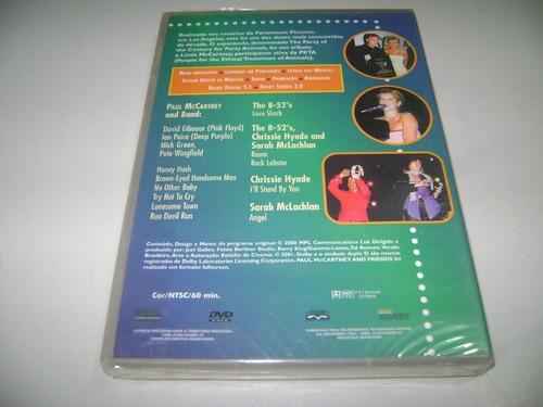 dvd musical paul maccartney ands frieds ! original !
