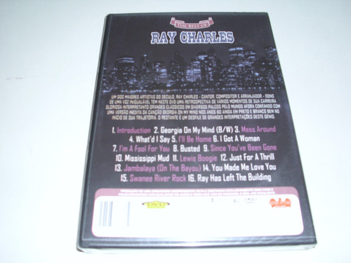 dvd musical ray charles the best of