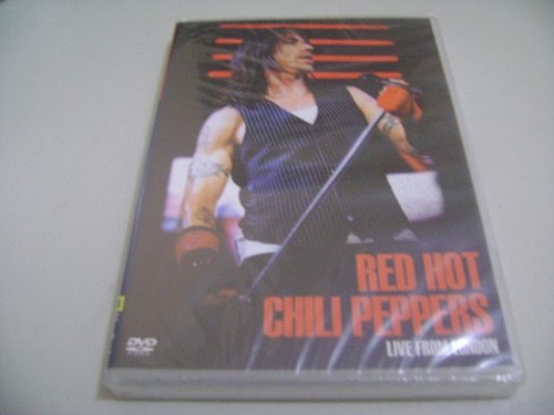 dvd musical red hot chilli peppers live from london