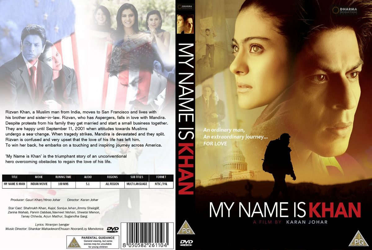 Image result for my name is khan dvd