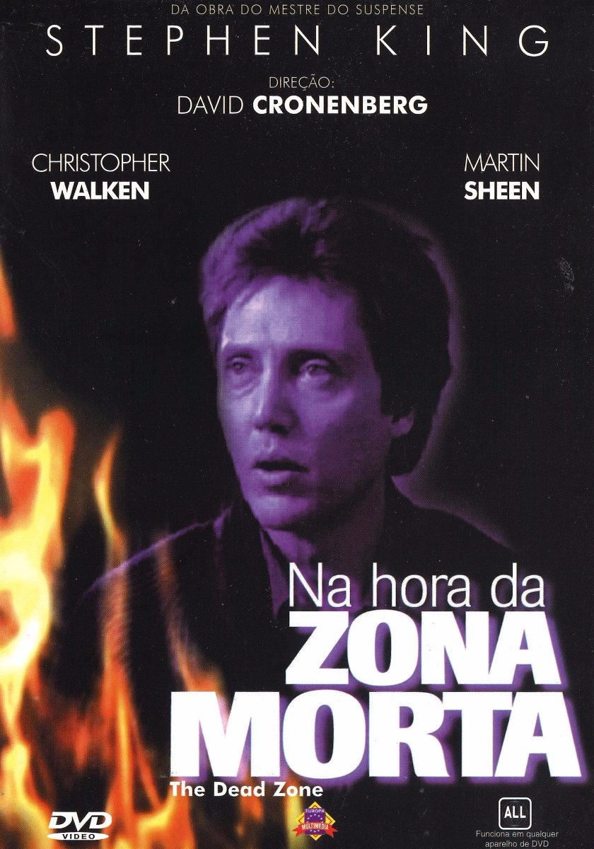 Dvd : Na Hora Da Zona Morta - Christopher Walken - Original - R ...