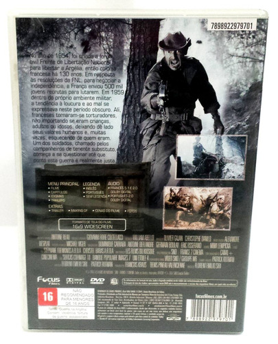 dvd na mira do inimigo (original)