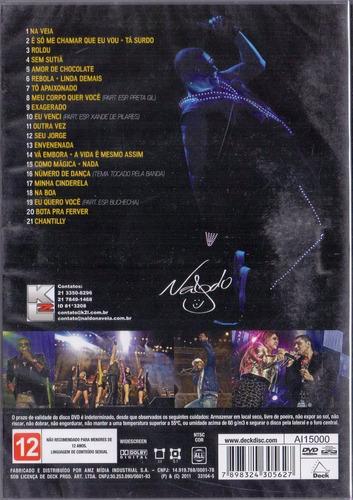 dvd naldo benny na veia tour - funk original e lacrado