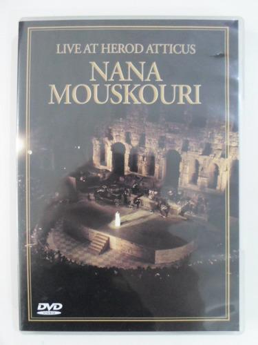 dvd nana mouskouri - live at herod atticus