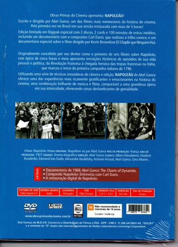 dvd napoleao (1927) - opc - bonellihq cx249 l18