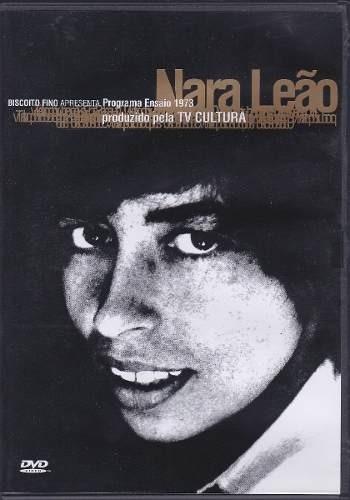 dvd nara leão - programa ensaio tv cultura 1973 (lacrado)