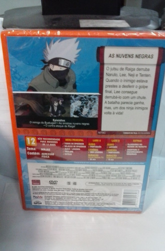 dvd naruto vol 45