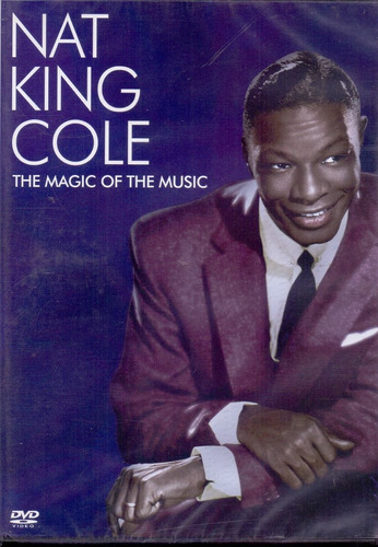 dvd nat king cole - the magic of the music - novo***