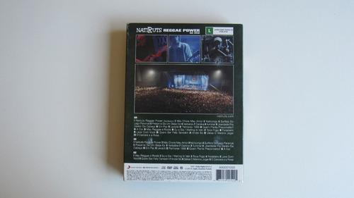 dvd natiruts - reggae power ao vivo - kit 1 dvd + 2 cds