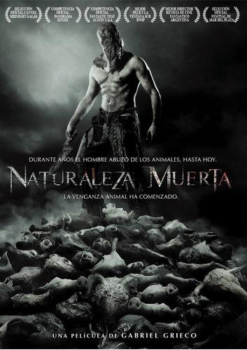 dvd naturaleza muerta de gabriel gieco nueva original cerrad