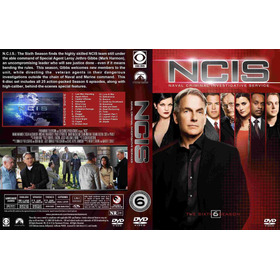 Dvd Ncis - 6ª Sexta Temporada Leg Português Lacrado 6 Discos
