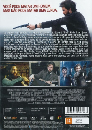dvd - ned kelly