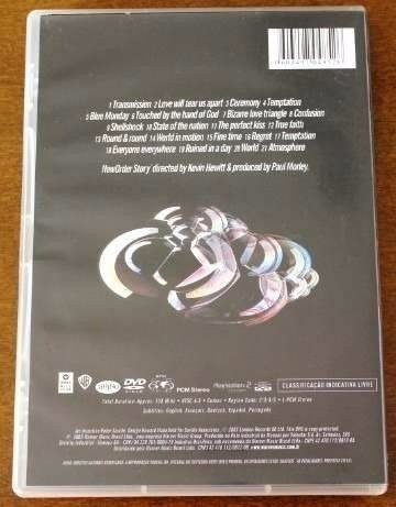 dvd new order - story  'original'