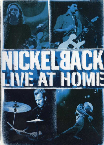 dvd nickelback - live at home
