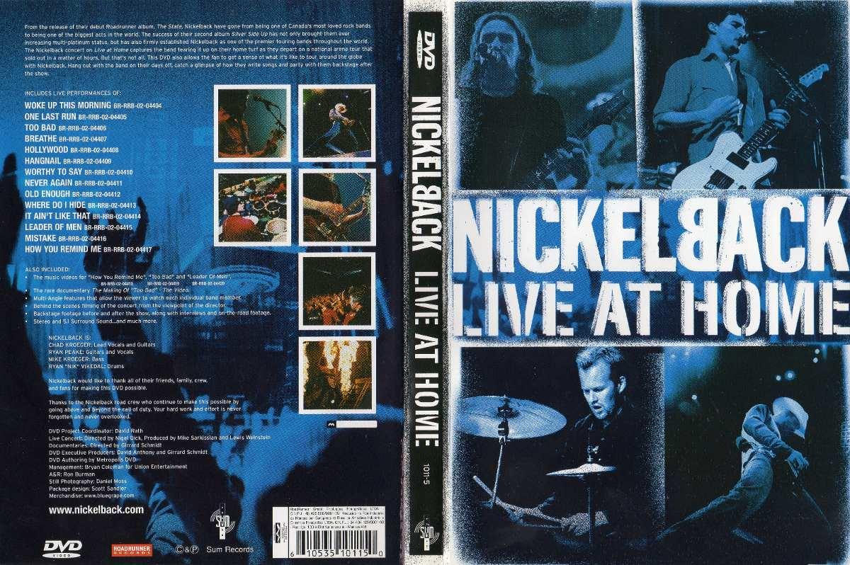 dvd nickelback