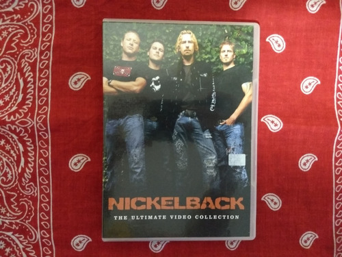 dvd nickelback the ultimate video collection