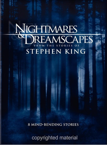 dvd nightmares and dreamscapes / de stephen king