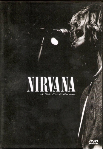 dvd nirvana a rock portrait document kurt cobain rock metal