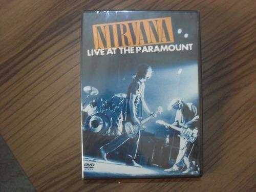 dvd nirvana live at the paramount produto lacrado