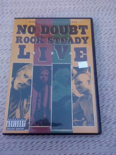 dvd no doubt rock steady original. impecable