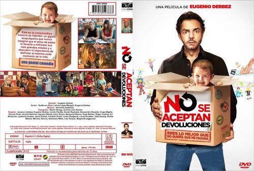 dvd no se aceptan devoluciones con eugenio derbez tampico