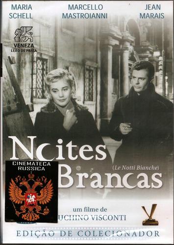 dvd noites brancas, luchino visconti, mastroianni 1957 +
