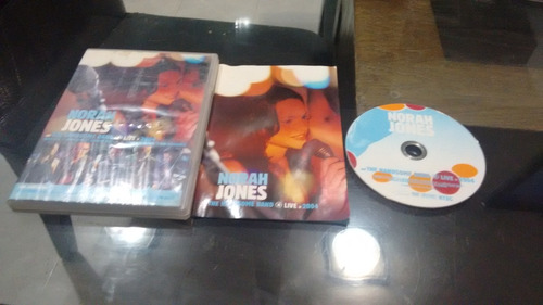 dvd norah jones live 2004n en formato dvd,funcionando