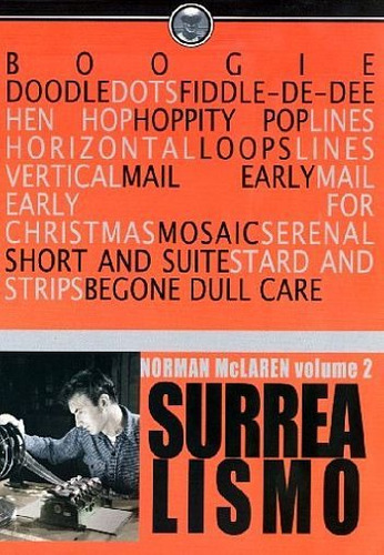 dvd norman mclaren ( surrealismo vol. 2 )