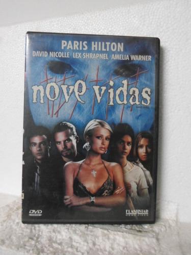 dvd nove vidas - original