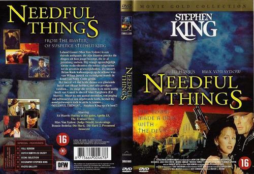 dvd novela stephen king needful things la tienda horror