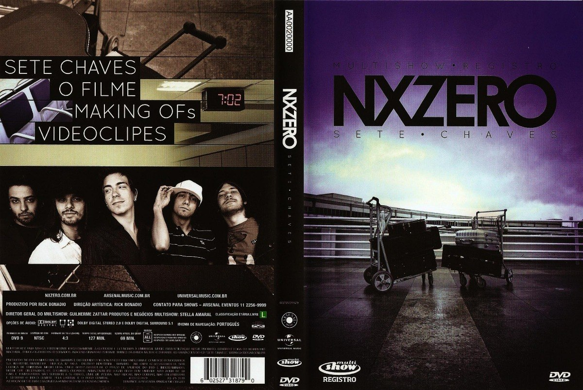 dvd do nx zero sete chaves