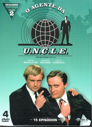 dvd o agente da uncle 2ª temporada volume 2 - bonellihq m20