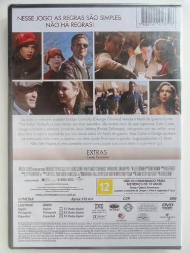 dvd  o amor não tem regras --------- original novo e lacrado