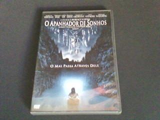 dvd o apanhador de sonhos - o mal passa através dele