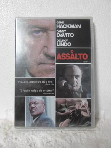 dvd o assalto - lacrado - frete: 8,00