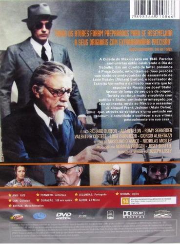 dvd - o assassinato de trótsky  ( the assassination of trots