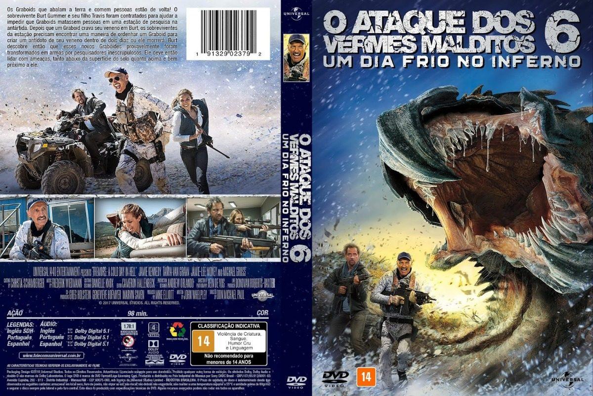 Dvd- O Ataque Dos Vermes Malditos 6 2018 (frete Grátis) - R$ 28,00 ...