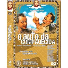 Dvd O Auto Da Compadecida- Duplo-filme+minissérie - Lacrado!