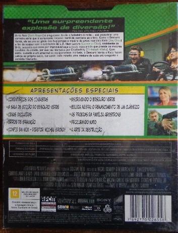 dvd - o besouro verde + brinde  -  lacrado de fabrica