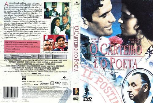 dvd o carteiro e o poeta - original!!!