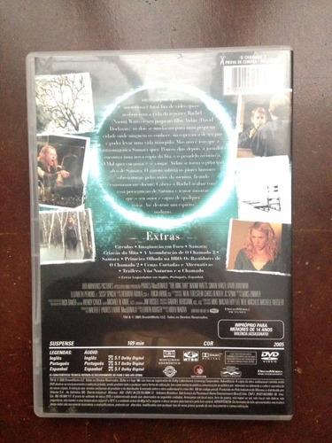 dvd o chamado 2 - original semi novo