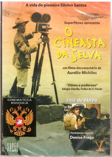 dvd o cineasta da selva, filme documentário, brasil 1997 +