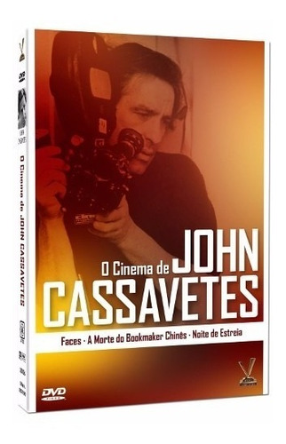 dvd o cinema de john cassavetes, digistack 3 dvds  +