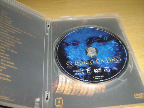 dvd o código da vinci - edição estendida