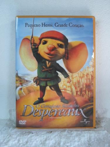 dvd o corajoso ratinho desperaux
