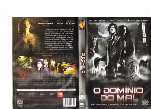 dvd o domínio do mal, sam worthington - ação - original